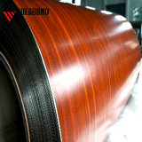 Ideabond hayas Pre-Painted rojo de la bobina de aluminio (AE-302)