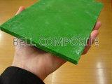 Plaque solide anti-glissement, feuille plate FRP / GRP, plaque plate en fibre de verre