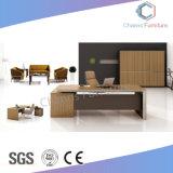 Mobilia di legno L scrivania di figura con il cassetto (CAS-MD18A06)