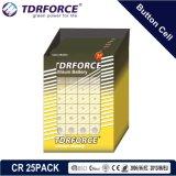 3V de Batterij van het Lithium van het Muntstuk van Cr met Ce voor Horloge (Cr 16PCS)