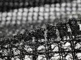 Geomat aveugle en plastique noir pour le drainage de vidange