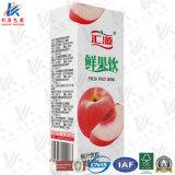 Jus de fruits Emballage du papier