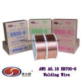 Er70s-6 directamente de fábrica de alambre de soldadura