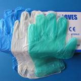 Одноразовые перчатки как виниловые пластинки порошка для медицинского использования