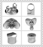 Barandilla de acero inoxidable de montaje de vidrio/ balaustrada Clip de cristal / Vidrio de la plaza de la abrazadera (5555)