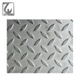 Plaque Checkered d'acier inoxydable de matériau de construction (201/304/316)