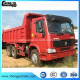 Sinotruk HOWO 6X4 35-45ton 디젤 엔진 덤프 트럭