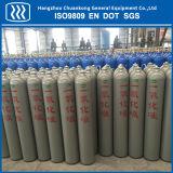 Cylindre à gaz d'oxygène à l'azote à argon en acier inoxydable