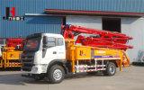 Com Suporte da Barra Truck-Mounted 21-38m Bomba de concreto
