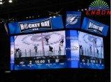 Elektronische Hintergrund LED-Bildschirmanzeige des Stadiums-P7.62
