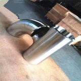Opgepoetst T-stuk 304 van de Elleboog de Sanitaire Montage van het Roestvrij staal