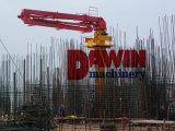 29m 33m distribuidor de colocação concreto hidráulico do crescimento de 3 braços com coluna tubular