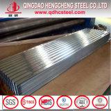 SGCC JIS G3302のGIの屋根ふきの金属によって波形を付けられる電流を通された鋼板