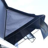 야영 면 Canvas Roof Top Tent Fiberglass Shell