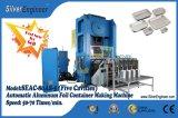 Neuer Entwurfs-Aluminiumfolie-Behälter, der Maschine herstellt