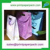 Impresso personalizado Papel Reciclado Sacola de Compras
