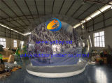 Menschliche Größen-aufblasbare Weihnachtsluftblasen-Abdeckung