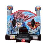 Superheld-aufblasbares federnd Schloss/aufblasbares springendes Schloss Chb390-5