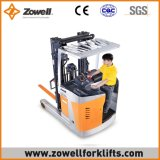 Heißer Verkauf Zowell ISO9001 elektrischer Gabelstapler mit einer 7.2 m-anhebenden Höhe