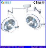Equipamentos médicos Double-Head Shadowless Operação de halogéneo de teto luzes cirúrgica de Teatro
