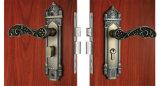 Fechadura da porta um graminho à prova de fogo a privacidade de latão antigo um graminho Lock