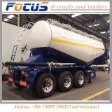 中国50cbmのバルクセメント/小麦粉の粉のタンカーのトレーラー