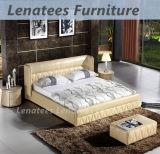 C021 Meubles de lit en cuir de style américain de style américain