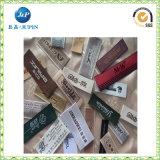 De in het groot Buitensporige Kleding van de Douane etiketteert de Geweven Etiketten van het Kledingstuk van Etiketten (JP-CL107)