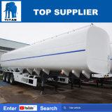 Titan Pétrolier de carburant de bonne qualité en acier au carbone liquide 50KL Tanker Tri Huile d'essieu remorque-citerne à carburant