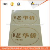 Impresora de vinilo papel impreso etiqueta autoadhesiva impresión de etiqueta transparente