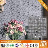 Mistura de Mármore cinzento aço inoxidável e vidro Diamante Mosaic (M823045)