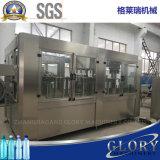 Sistema di riempimento automatico dell'acqua di bottiglia con l'imballaggio