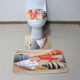 Custom цифровой печати туалет в ванной комнате коврик
