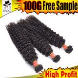Продукт волос выдвижения ранга 9A бразильский Unprocessed