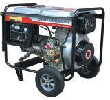 Ouvrir le type générateur diesel de Jumeau-Cylindre pour l'usage à la maison