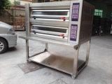 Professional Digital de lujo Double Deck Pizza Precio Horno eléctrico