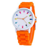 Hot Sale Women Casual Montre Silicone Montre bracelet Femme Femme Montre Quartz Homme
