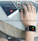 Telefone esperto do relógio da tela de toque com ranhura para cartão Q7 de SIM