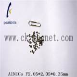 Ck-204 Características imán AlNiCo F2.05*2,05*0,35 mm