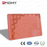 二重側面の印刷低周波RFIDの公共交通機関のカード