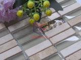ガラス(CFS716)が付いている転落させた終わりの大理石のモザイク