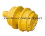 Komatsu excavateur pour machinerie de construction du galet porteur de pièces de châssis porteur de nivelage rouleau supérieur du rouleau supérieur