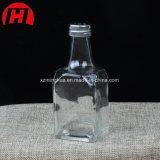 Frasco de vidro do condimento para o sal e a pimenta