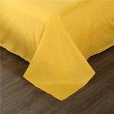Fabrik-preiswerte Preis-einfache Großhandelsart-feste helle gelbe Farben-Bettwäsche-Sets