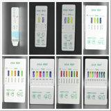 8 cuvette de carte d'IMMERSION de dispositif d'essai de drogue d'urine de panneau du panneau 10