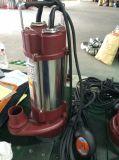 Aço inoxidável série SPA de esgoto da bomba eléctrica de água submersível com interruptor de flutuação