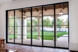 현대 작풍 유리제 강철 문 디자인