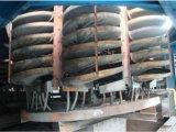 Descendeur spiralé de densité en verre de bâti en acier pour séparer des matériaux de minerai/en métal de fer (aucun électrique)