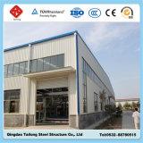 Entrepôt léger préfabriqué économique de structure métallique
