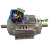 0.5kw 3 단계 AC 저속 Rpm 동시 영구 자석 발전기, 바람 또는 물 또는 수력 전기 힘